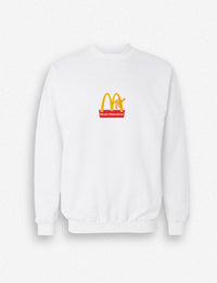 Hipland MTV logo unisex sweatshirt in black, white