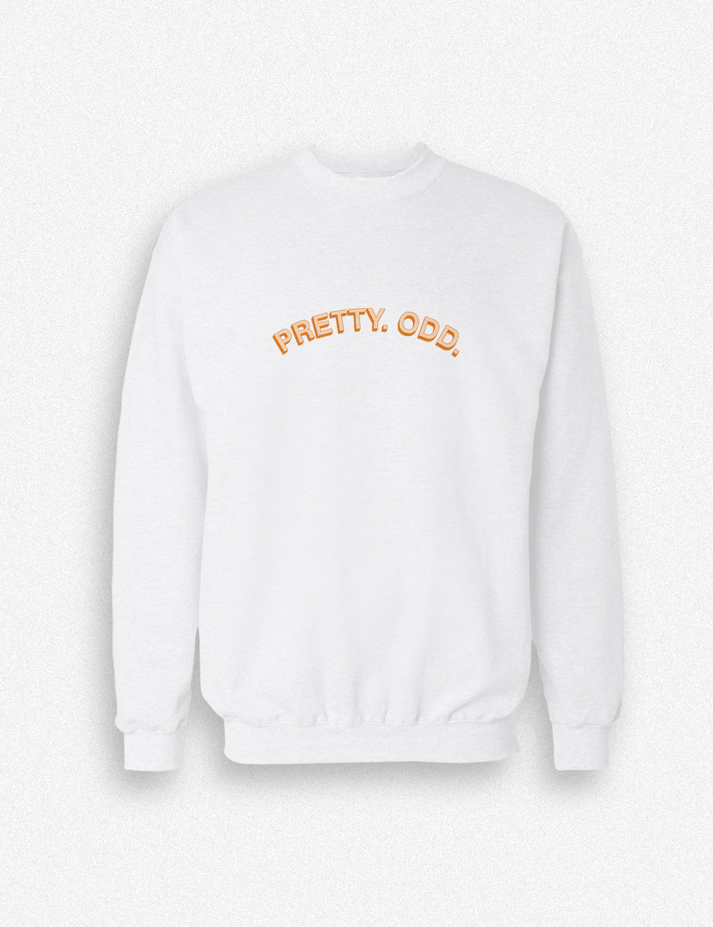 Hipland Pretty Odd logo unisex sweater in black, white