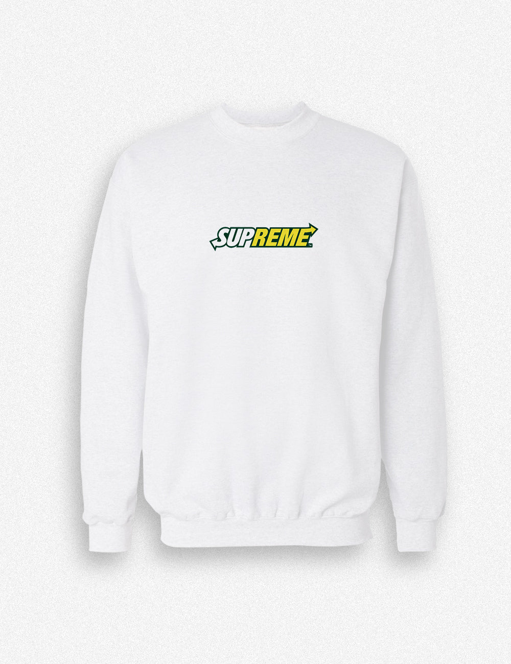 Hipland Subway x Supreme unisex Sweater in white