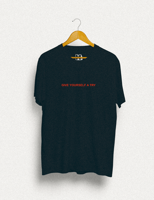 Hipland Give Yourself A Try T-shirt - HIPLAND
