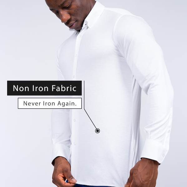 Guaranteed Non Iron Shirts for Men