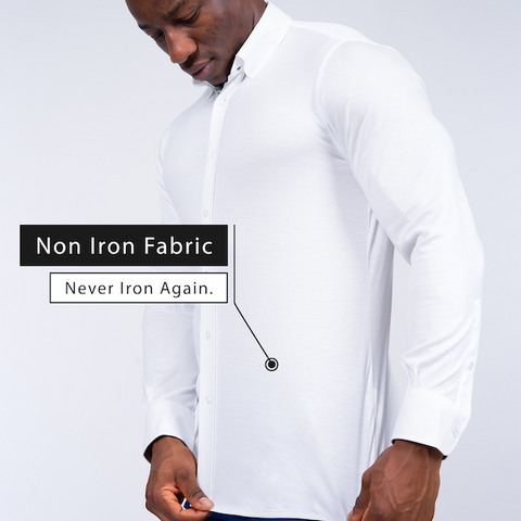 non iron shirt for men