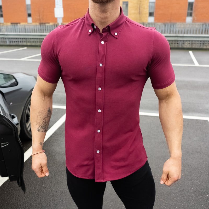 Non Iron 8x Stretch Short Sleeve Shirt