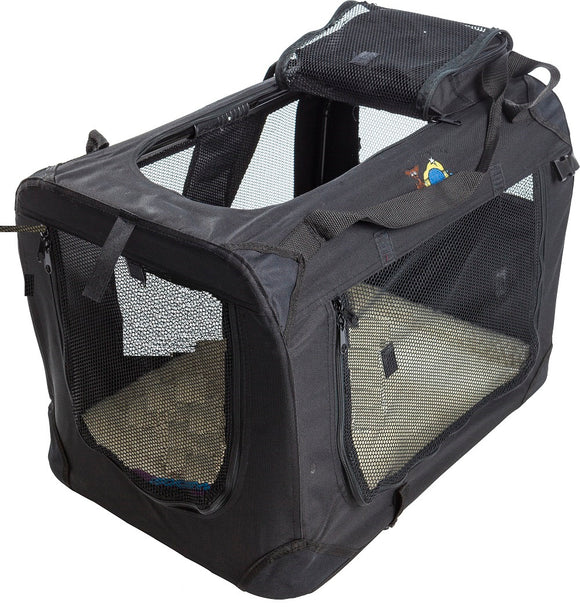 C-PETS Collapsible Carrier 2X-Large Black