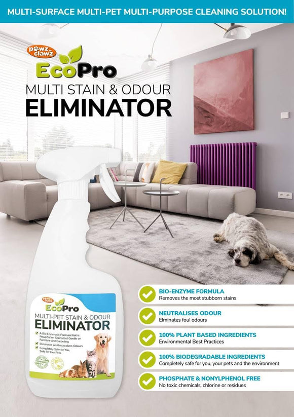Pawz to Clawz Eco Pro Multi Pet Stain & Odour Eliminator