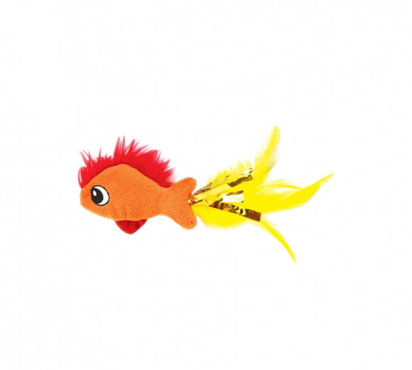 Petstages Feather Fish Cat Toy