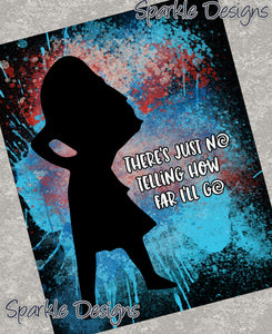 There's just no telling how far I'll go - Moana 152 Magnet