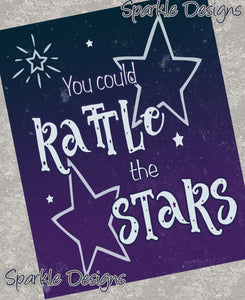 You could rattle the stars - Throne of Glass 157 Art Print