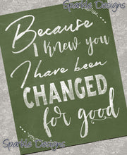 I have been changed for good - Wicked 165 Magnet