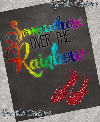 Somewhere over the Rainbow - Wizard of Oz 168 Magnet