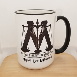 Department of Aurors - Harry Potter inspired mug