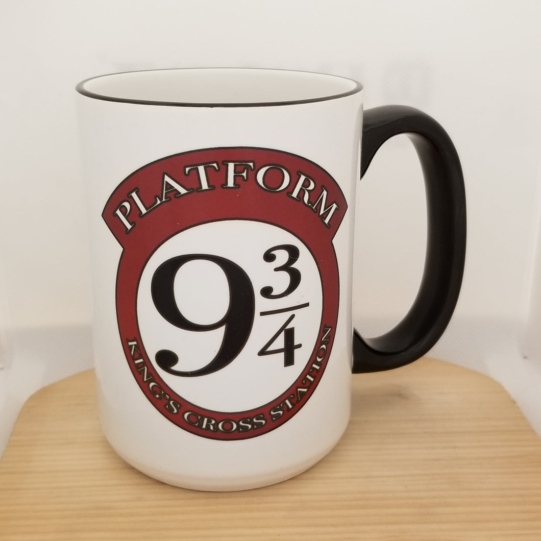 Platform 9 3/4 - Harry Potter inspired mug