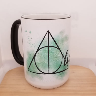Deathly Hallows Always - Harry Potter inspired mug