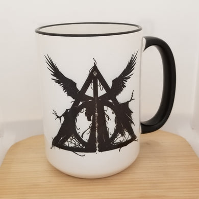 Dark Deathly Hallows - Harry Potter inspired mug
