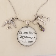 Sweeney Todd Play Book book charm necklace