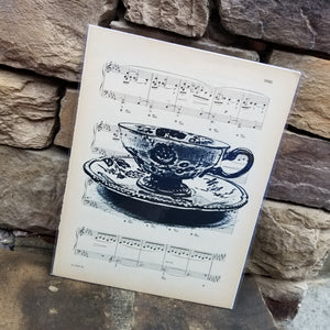 Music Art - Teacup
