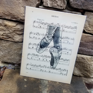 Music Art - Ballet Slippers