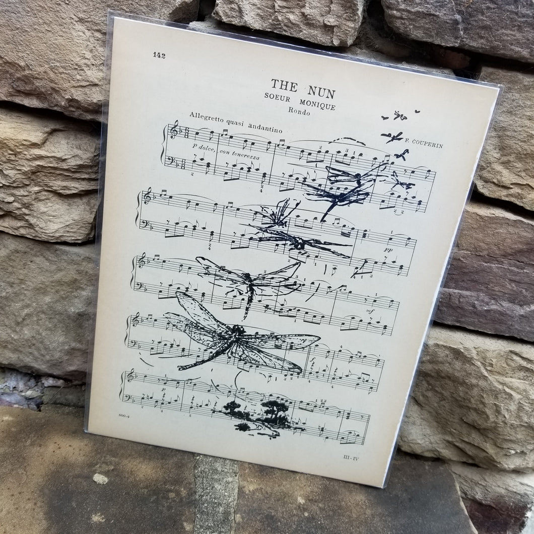 Music Art - Dragonfly Trail