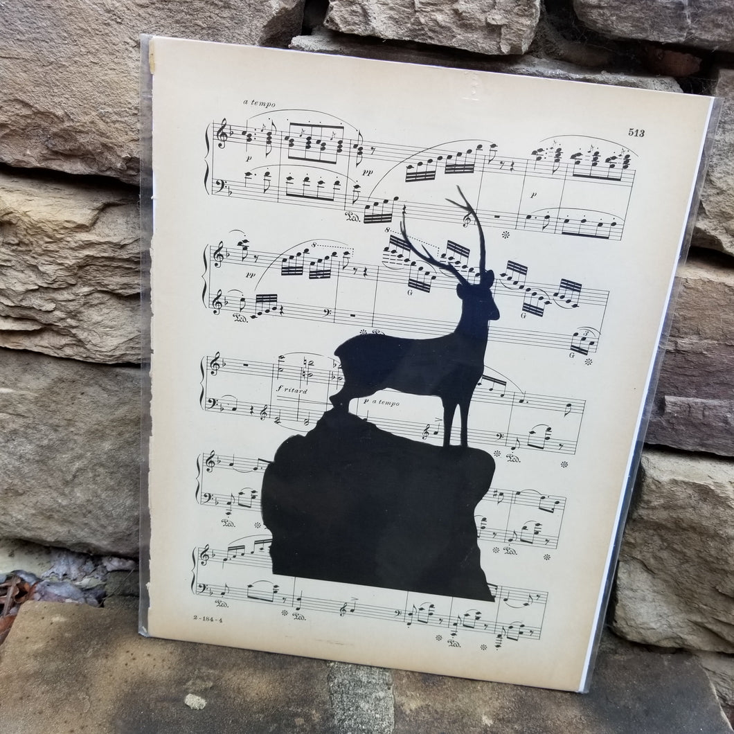 Music Art - Stag