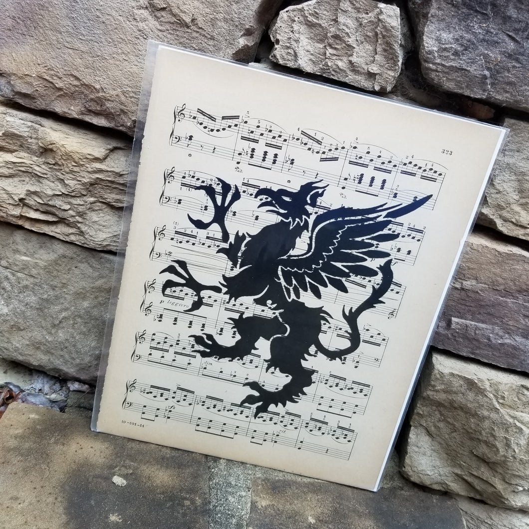 Music Art - Griffin