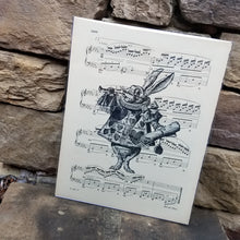 Music Art - White Rabbit