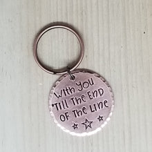 Hand stamped keychains - Heroes and Villains Inspired