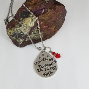 Practically Perfect In Every Way - Pendant Necklace