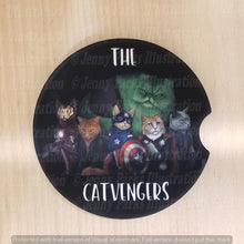*Licensed* Jenny Parks car coaster  *Catvengers*