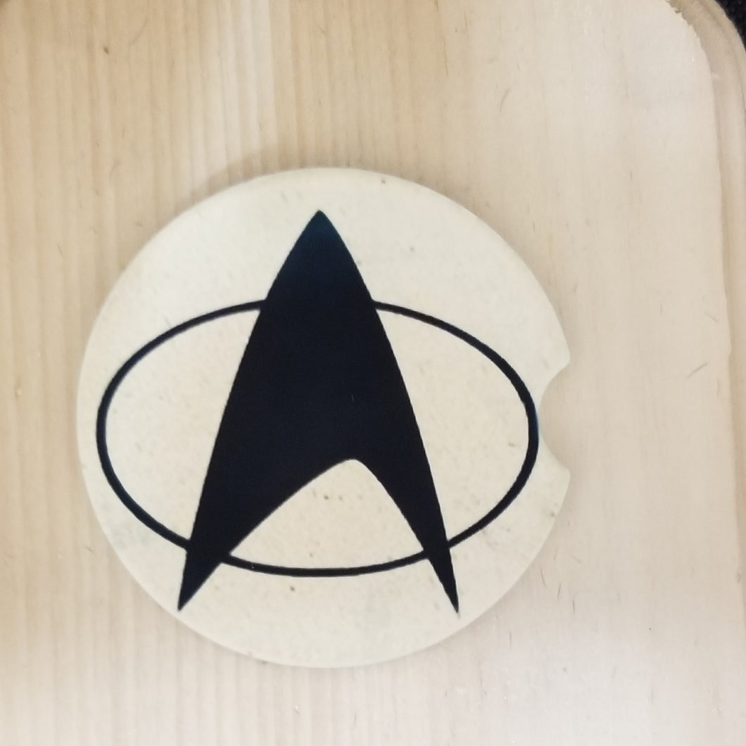 Sandstone Car coaster - Star Trek