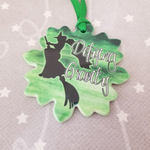 Porcelain ornament - Wicked inspired - Defying Gravity