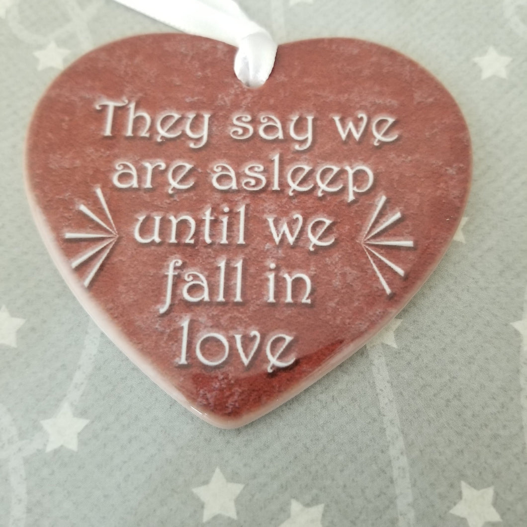 Porcelain ornament - Great Comet inspired