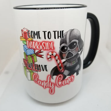 Dark Side Christmas Mug