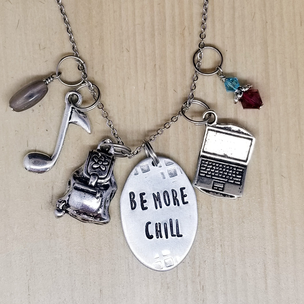 Be More Chill - Charm Necklace