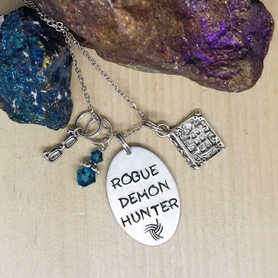 Rogue Demon Hunter - Charm Necklace