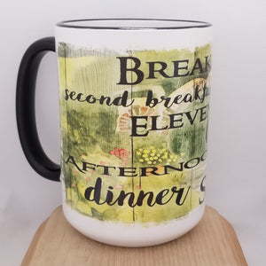 Hobbit Meals - Tolkien inspired mug