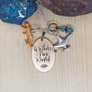 A Whole New World - Charm Necklace