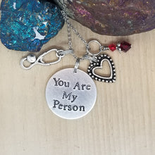 You Are My Person - Charm Necklace