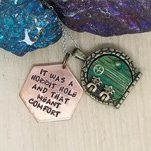 It Was A Hobbit Hole And That Meant Comfort - Charm Necklace