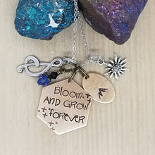 Bloom And Grow Forever - Charm Necklace
