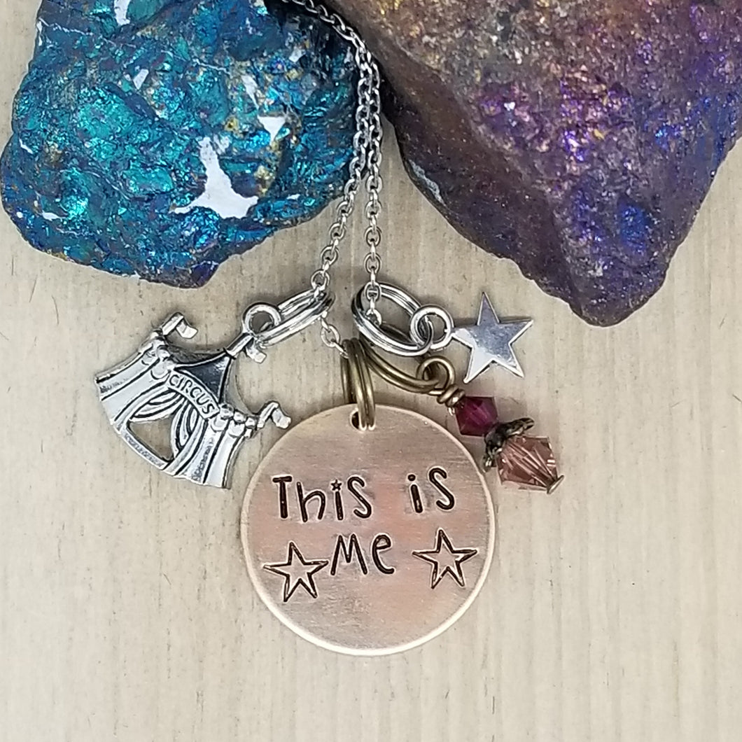 This Is Me - Charm Necklace