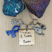 I Smell Snow - Charm Necklace