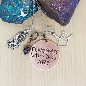 Remember Who You Are - Charm Necklace