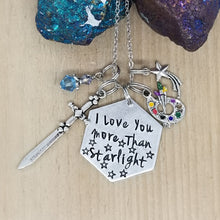 I Love You More Than Starlight - Charm Necklace