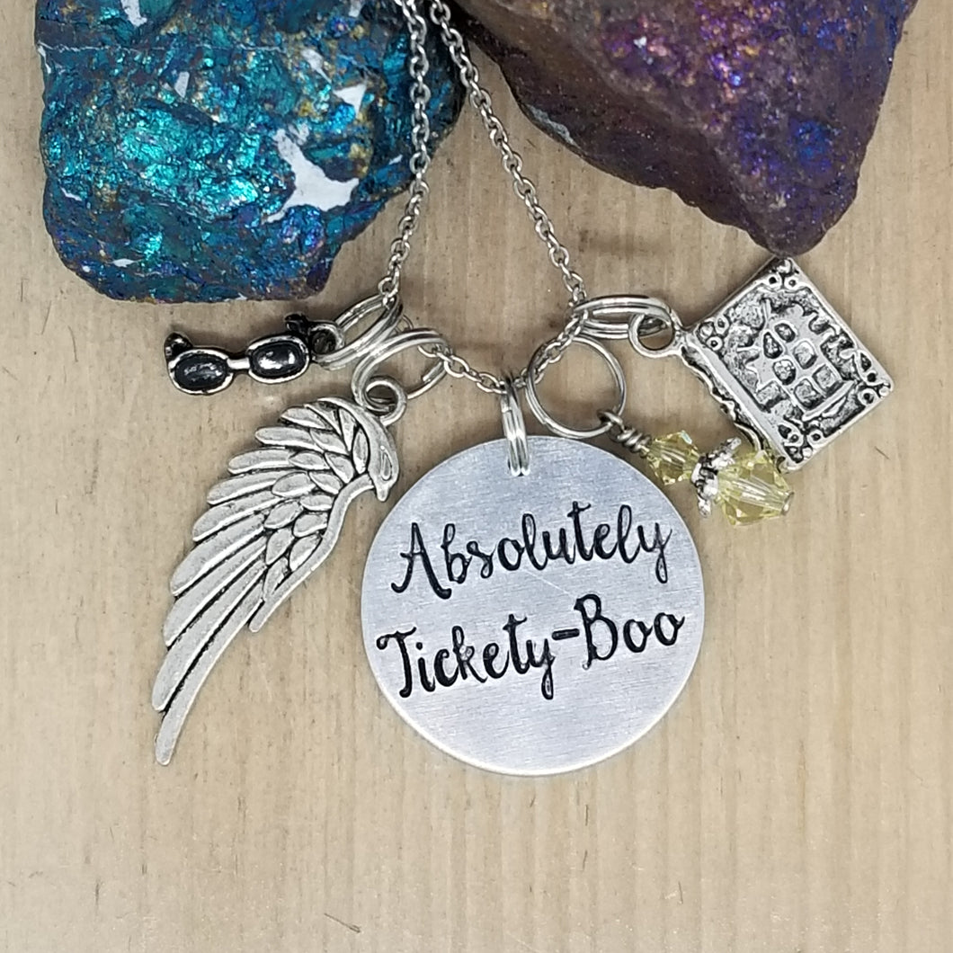 Absolutely Tickety-Boo - Charm Necklace