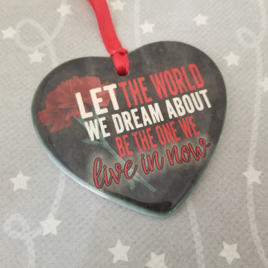 Porcelain ornament - Hadestown - Let the world...