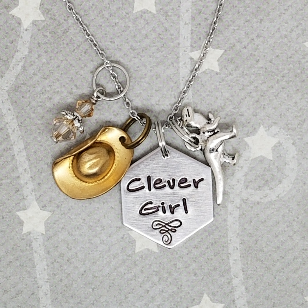 Clever Girl - Charm Necklace