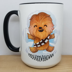 Chewie inspired Christmas Mug