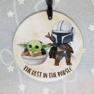 Porcelain ornament - The Best in the Parsec
