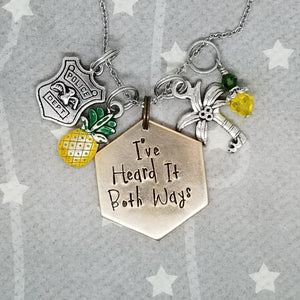 I've Heard It Both Ways - Charm Necklace