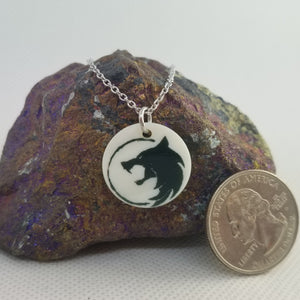 Witcher Wolf - Shell pendant
